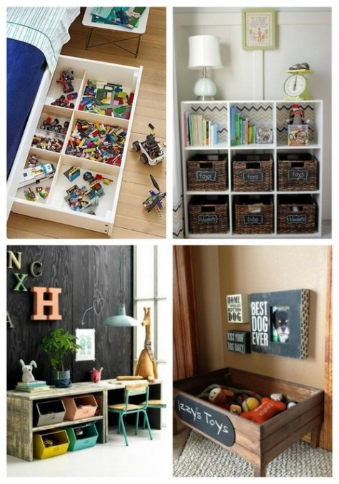 Kids Toy Organizing Ideas  50 Kids' Toys Organization Ideas