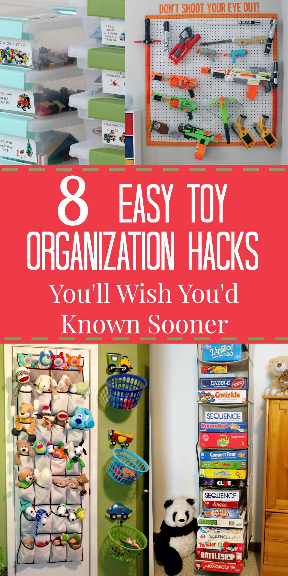 Kids Toy Organizing Ideas  8 Ridiculously Easy Toy Organization Hacks You ll Wish You