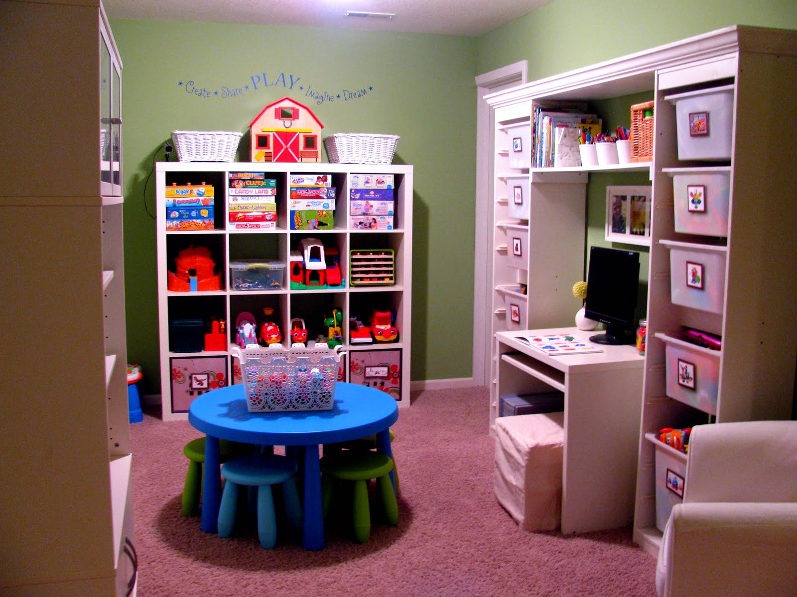 Kids Toy Organizing Ideas  IHeart Organizing Reader Space Toy Tastic