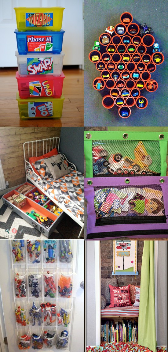 Kids Toy Organizing Ideas  20 DIY Toy Organization Ideas