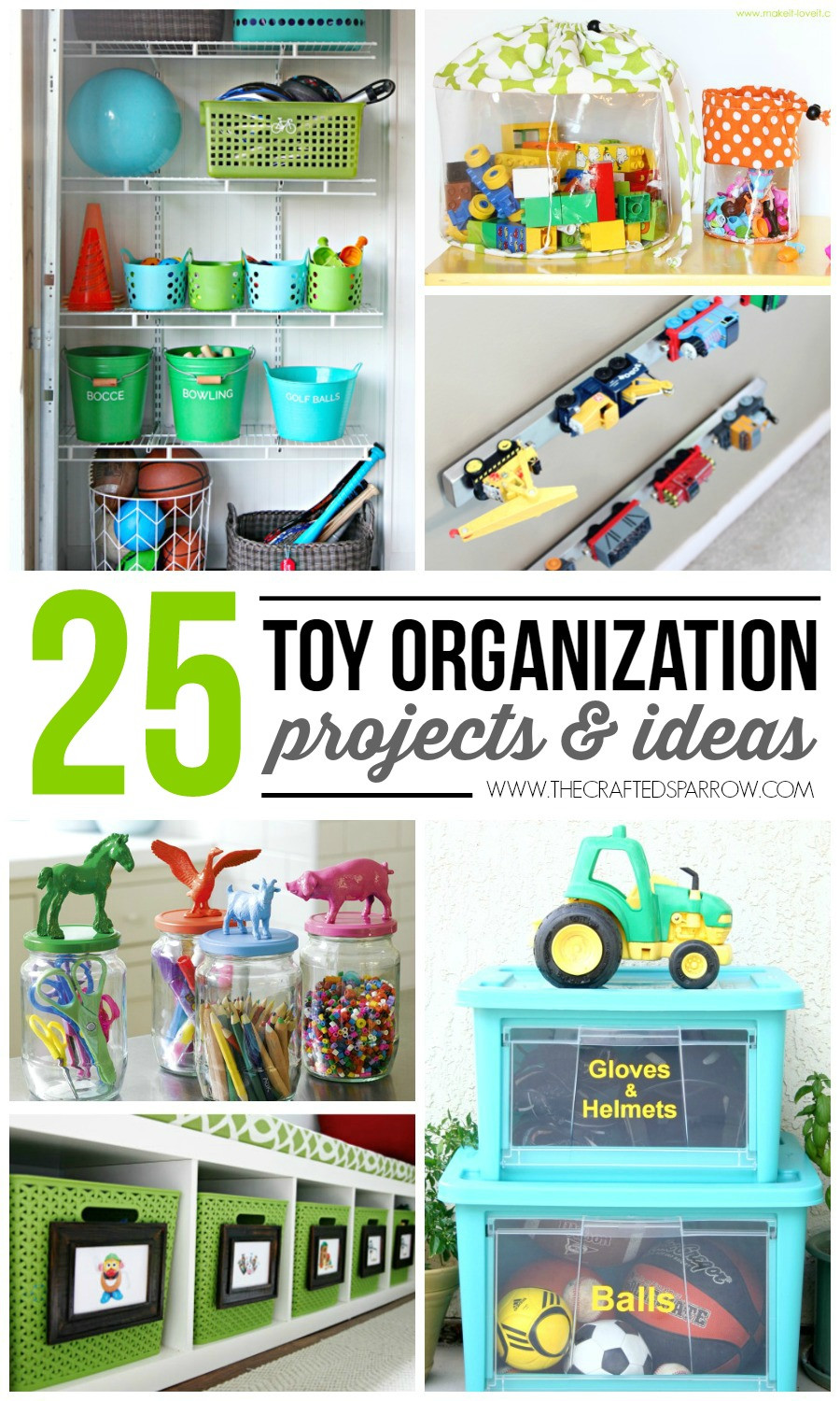 Kids Toy Organizing Ideas  25 Toy Organization Projects & Ideas
