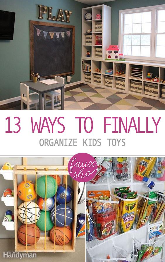 Kids Toy Organizing Ideas  13 Ways to Finally Organize Kids Toys