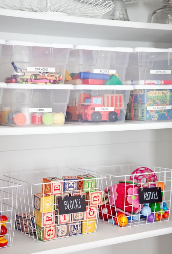 Kids Toy Organizing Ideas  39 Cool And Easy Kids' Toys Organizing Ideas DigsDigs