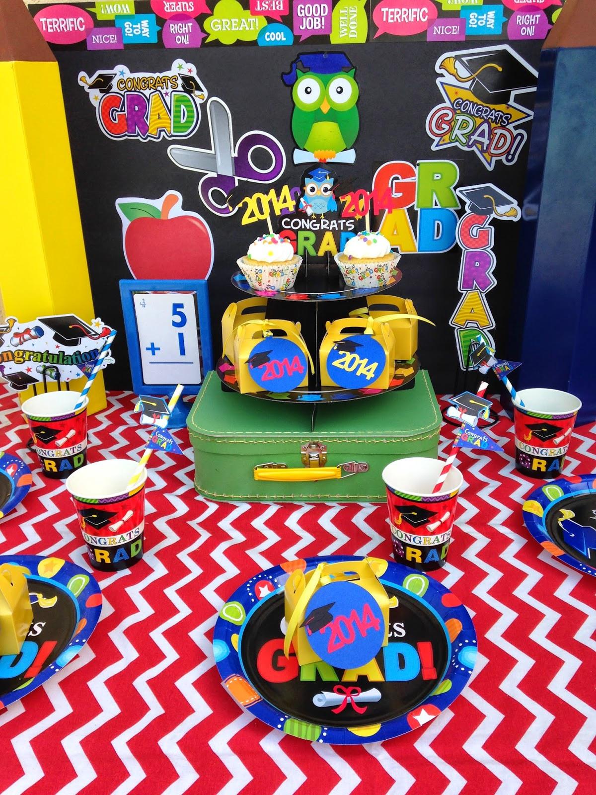 Kindergarten Graduation Gift Ideas  Pre School Kindergarten Graduation party ideas LAURA S