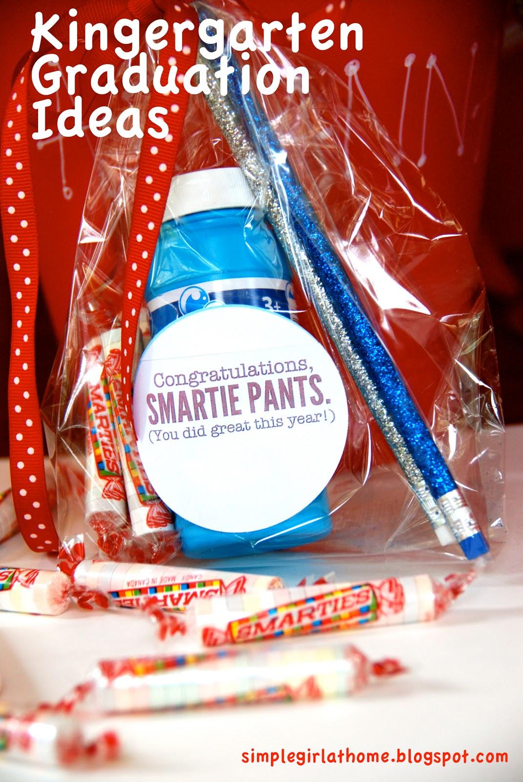 Kindergarten Graduation Gift Ideas  Simple Girl Kindergarten Graduation Ideas