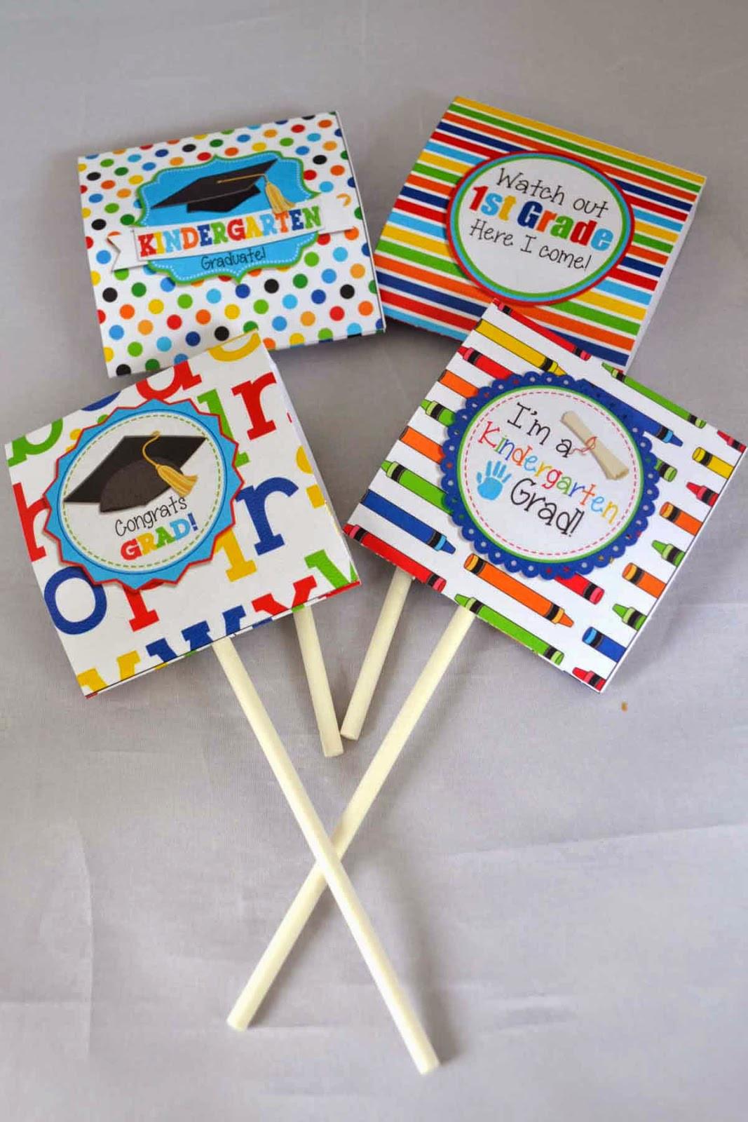 Kindergarten Graduation Gift Ideas  A Manda Creation Kindergarten Graduation Party Printables