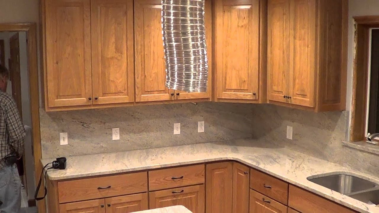 Kitchen Backsplash Outlets  Cashmere Creme White Granite Countertop Outlets IN The