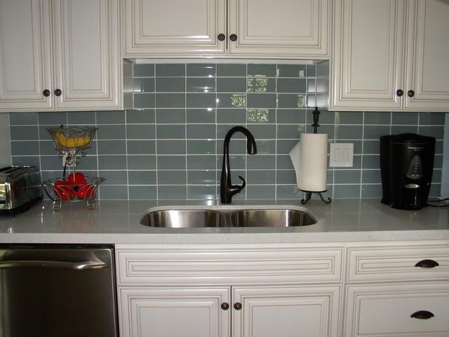 Kitchen Backsplash Outlets  Glass Tile Backsplashes by SubwayTileOutlet Modern