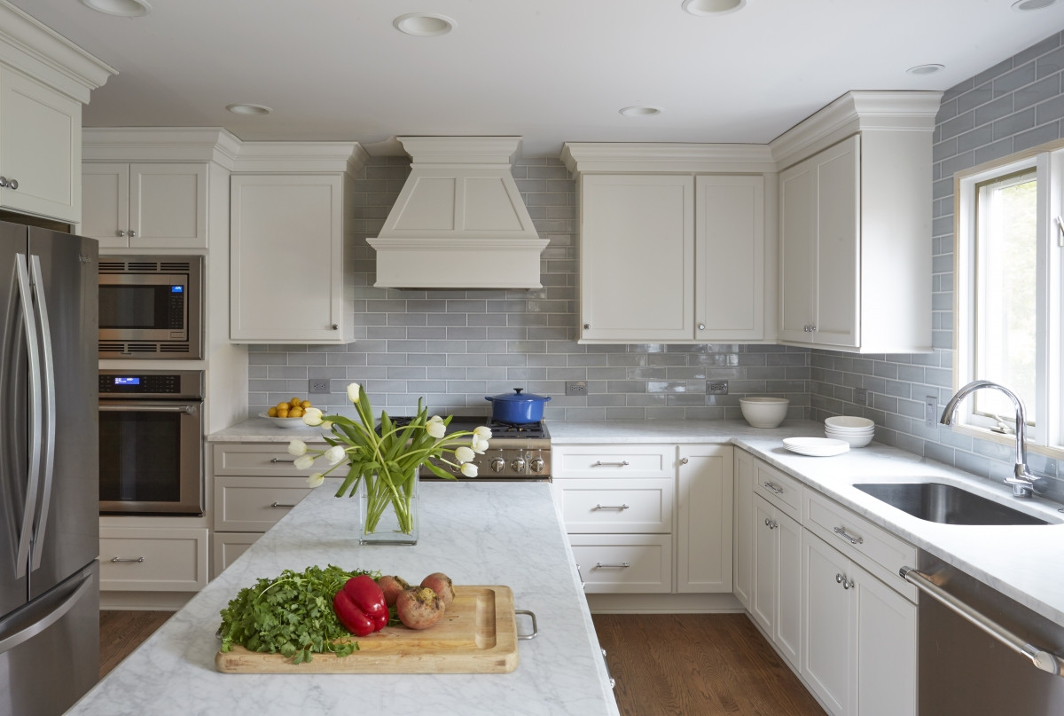 Kitchen Backsplash Outlets  Creative Ways to Hide Electrical Outlets in Your New Kitchen