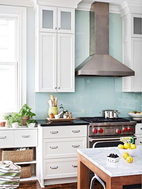 Kitchen Stove Wall Protector  14 best Backsplashes behind range images on Pinterest