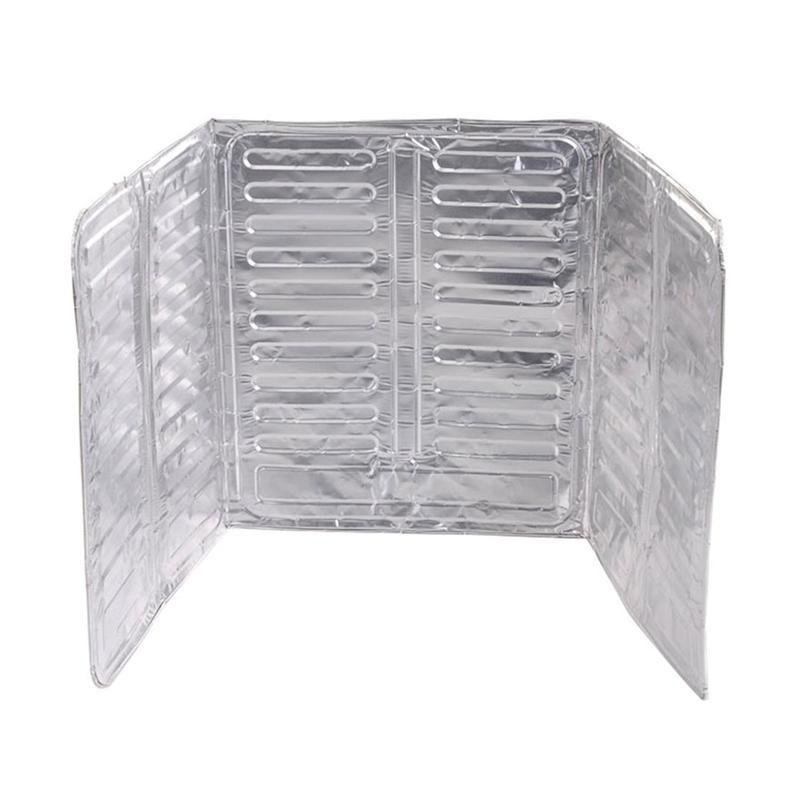 Kitchen Stove Wall Protector  Wall Oil Splash Guard Aluminum Foil Gas Stove Shield Oil