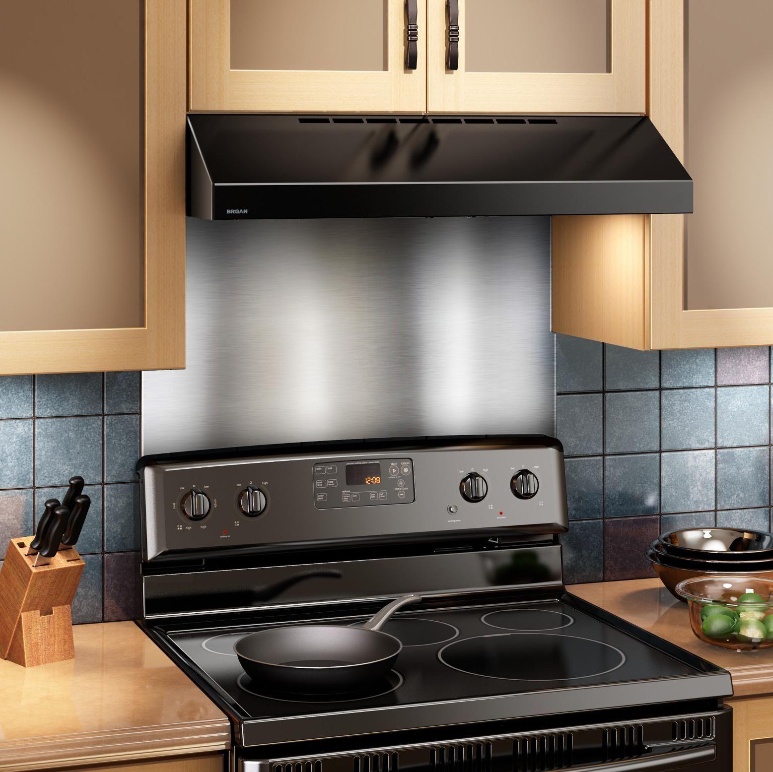 Kitchen Stove Wall Protector  BROAN SP3004 Backsplash 30 Inch Wide Reversible