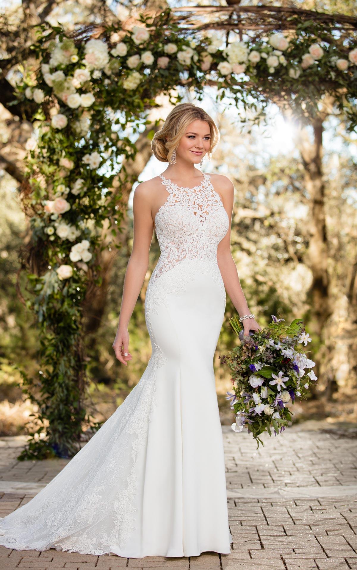 Lace Wedding Gowns  Lace Wedding Dresses Unique Lace Wedding Gown