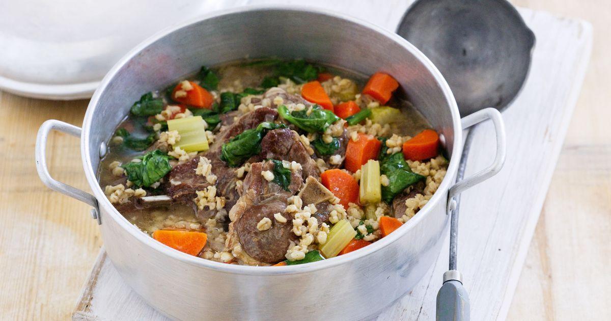 Lamb Barley Stew  Lamb and barley Irish stew