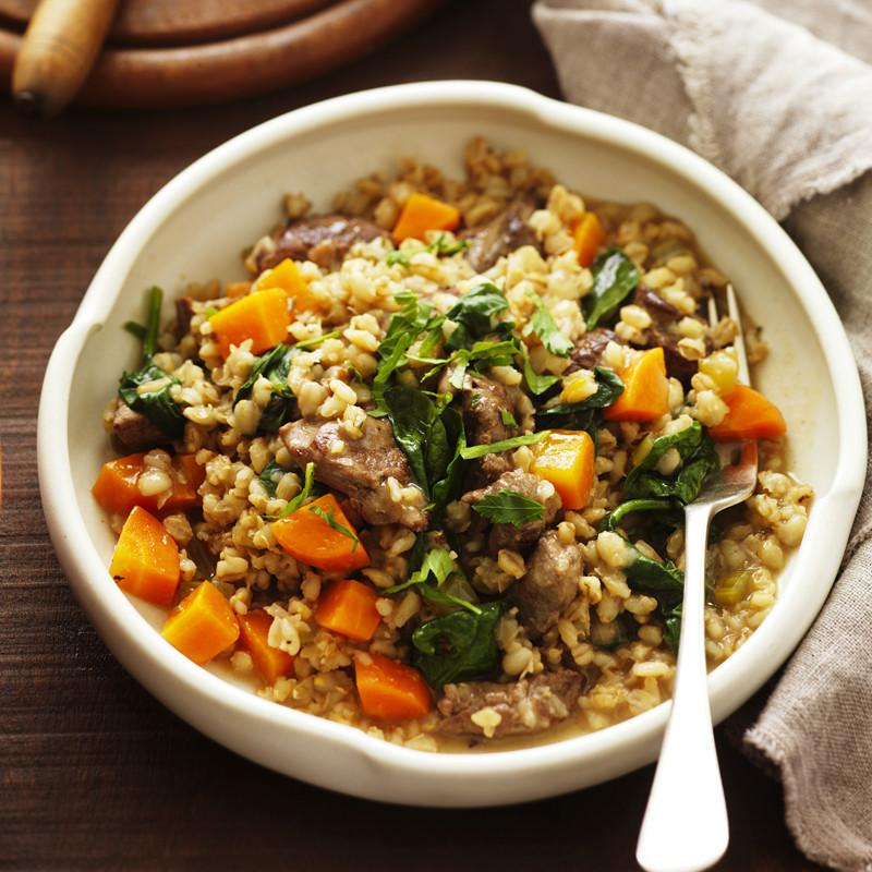 Lamb Barley Stew  Irish lamb and barley stew Healthy Recipe
