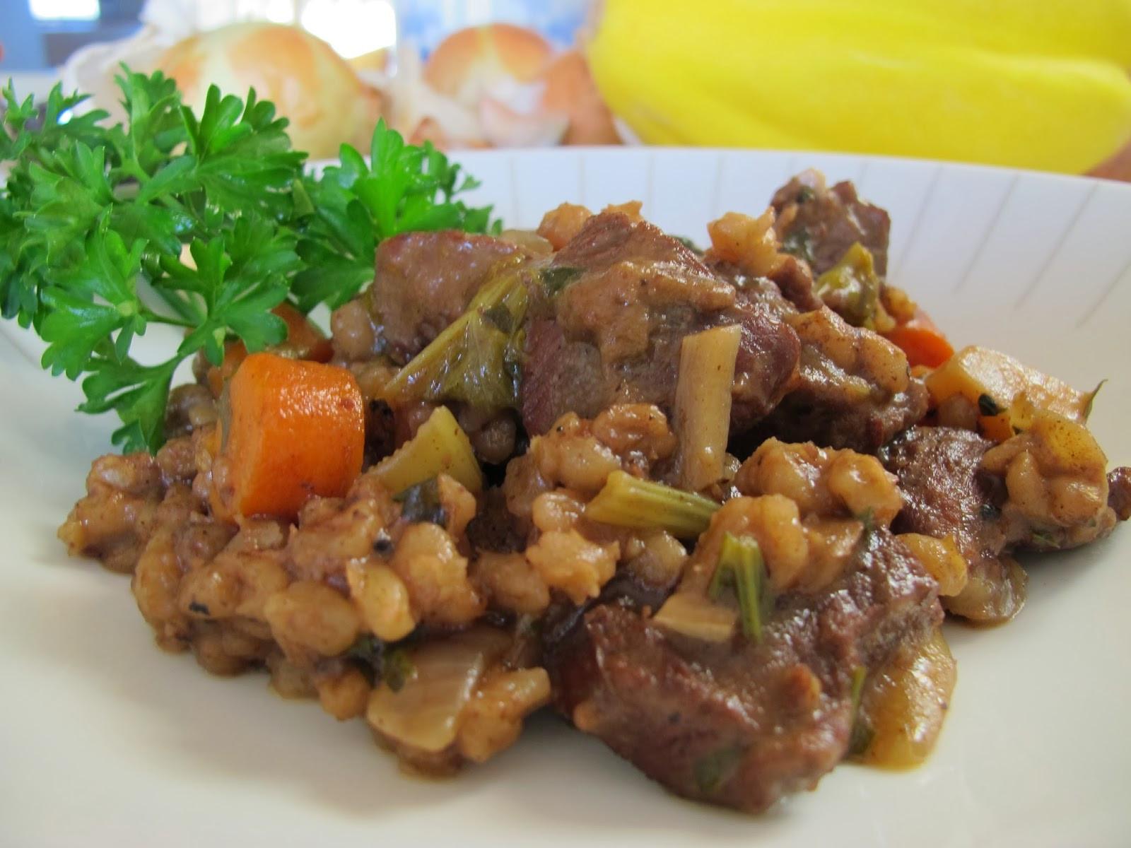 Lamb Barley Stew  MORE TIME AT THE TABLE Lamb and Barley Stew with Root