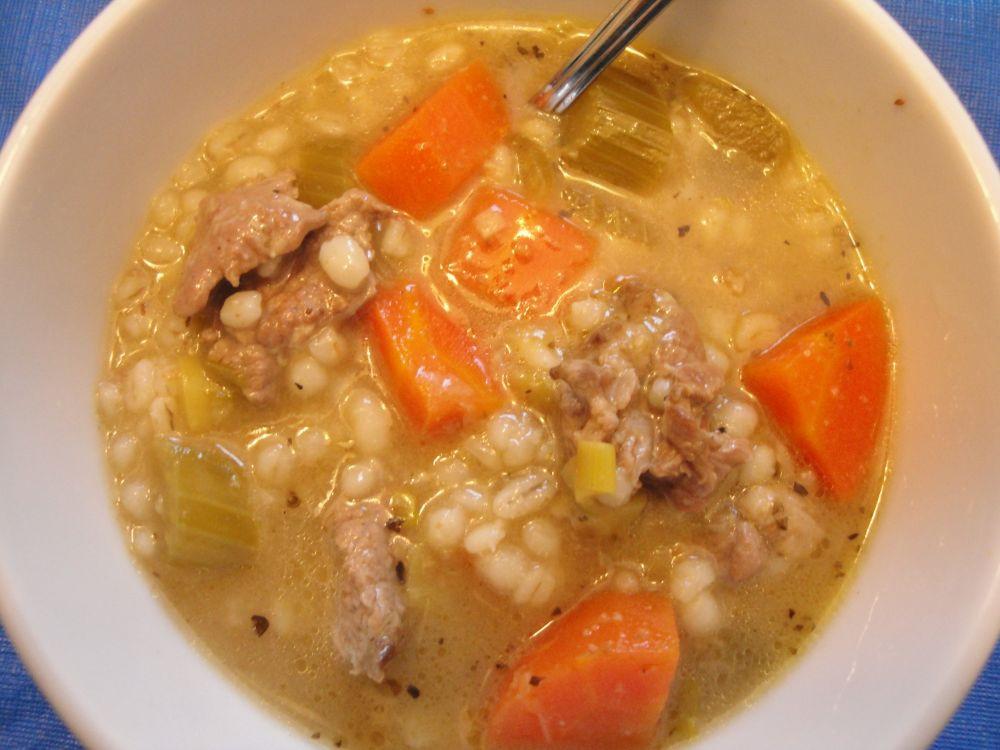 Lamb Barley Stew  lamb barley stew