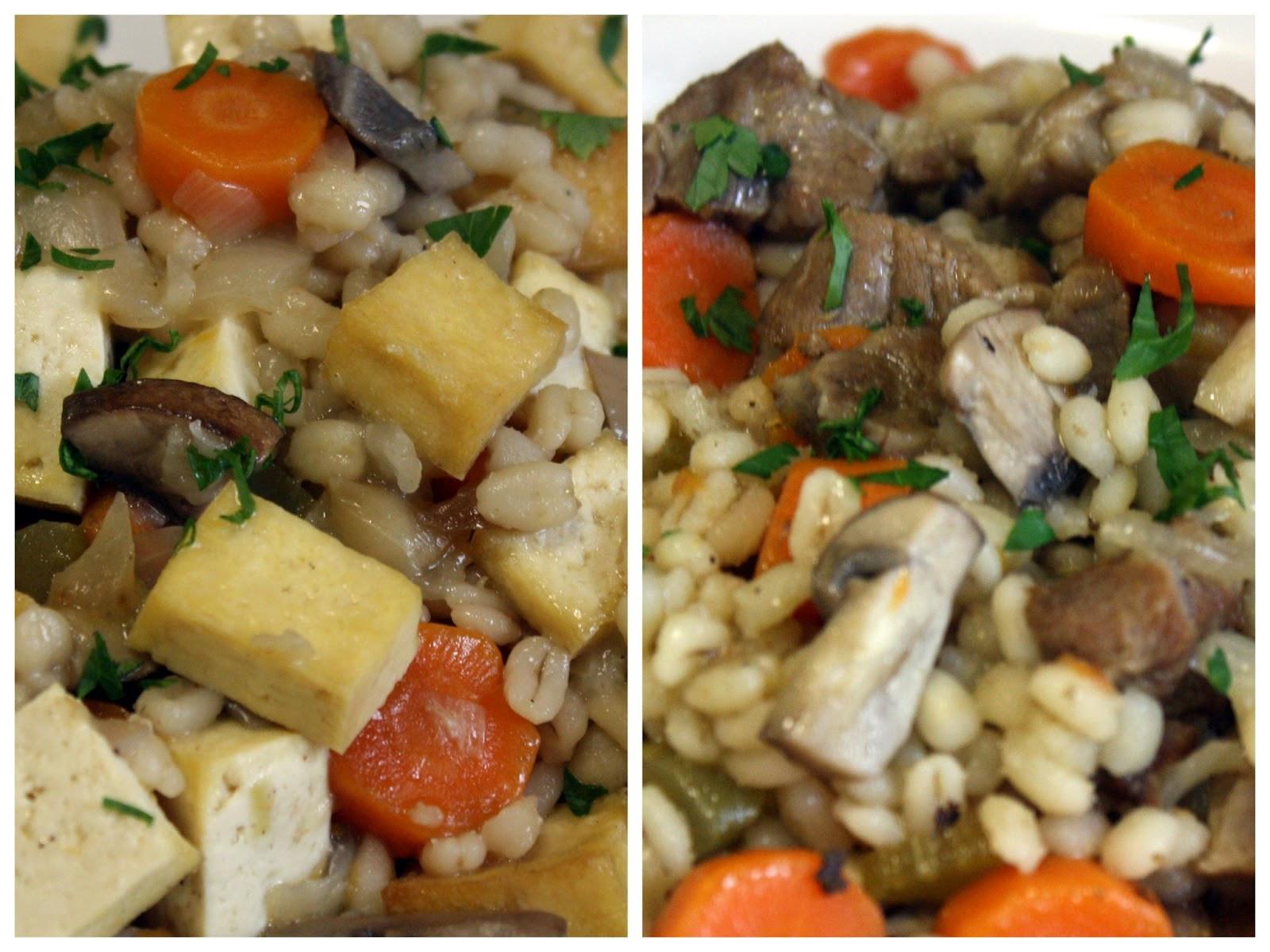 Lamb Barley Stew  Make Meals Mama Lamb and Tofu Barley Stew