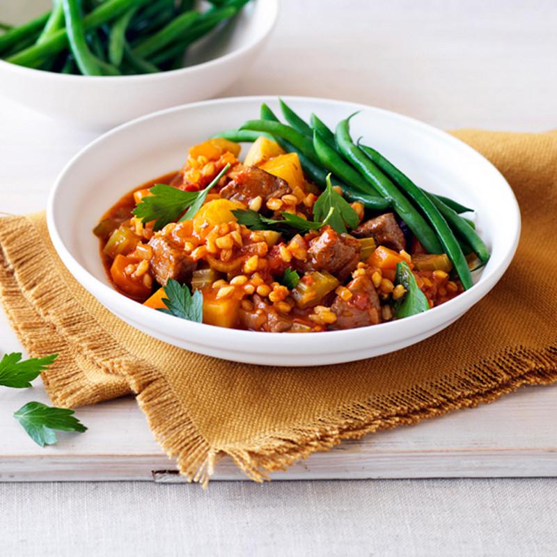 Lamb Barley Stew  Lamb barley and rosemary stew Healthy Recipe