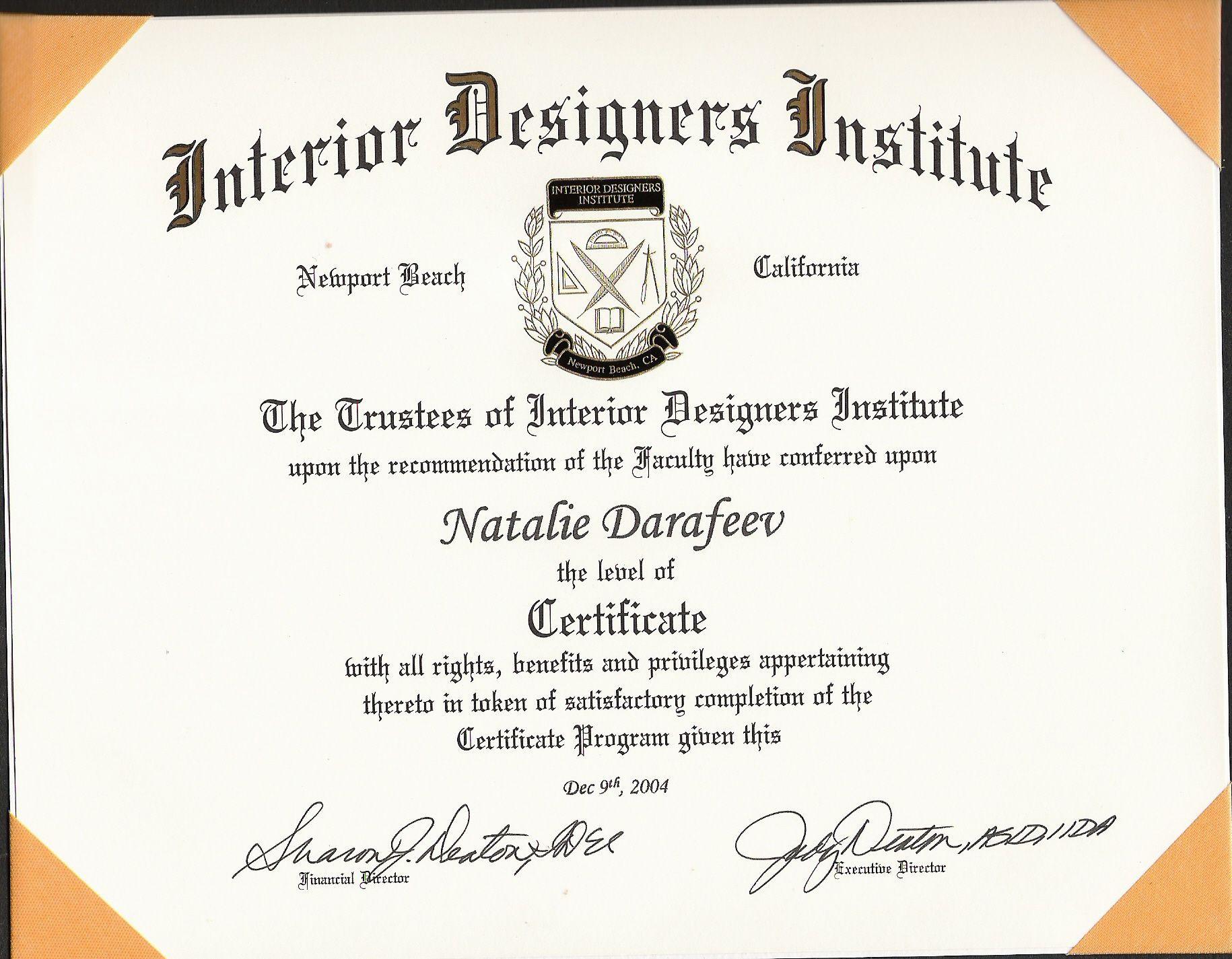 Landscape Design Certification  Other by Natalie Darafeev at Coroflot