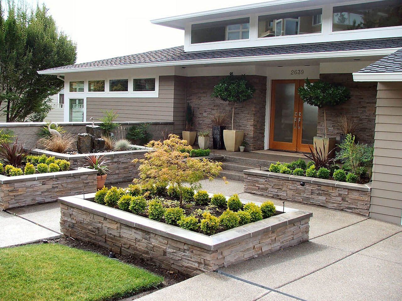 Landscape Design Front Yards  25 Simple Front Yard Landscaping Ideas That You Need To