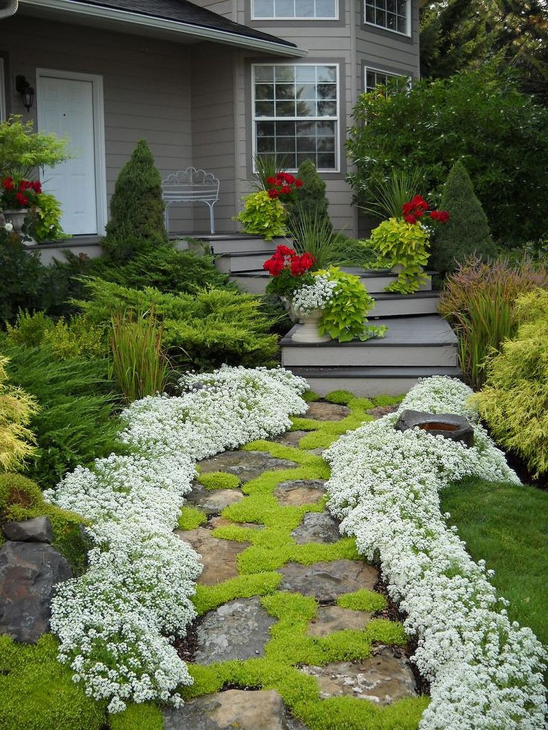 Landscape Design Front Yards  50 Simple and Beautiful Front Yard Landscaping Ideas