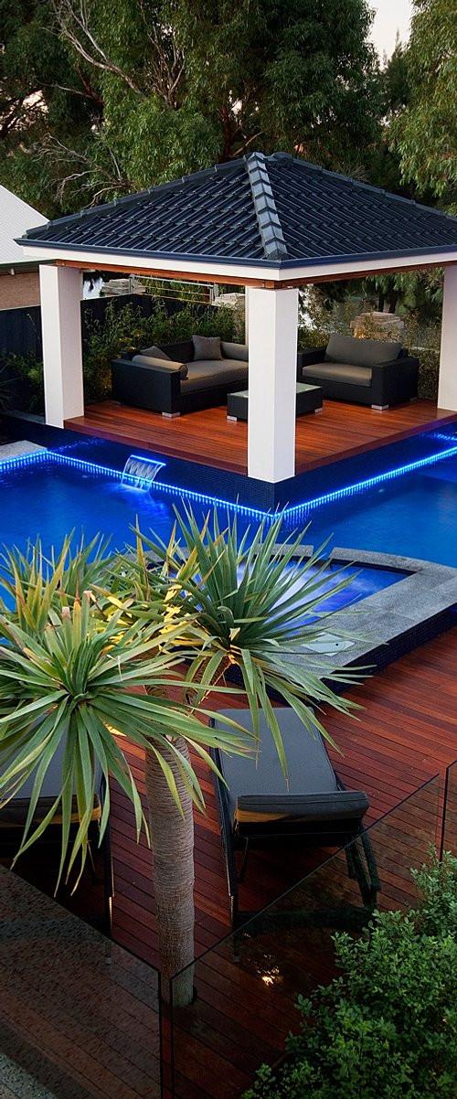 Landscape Design Perth  Design Plan Pool landscape design perth Details
