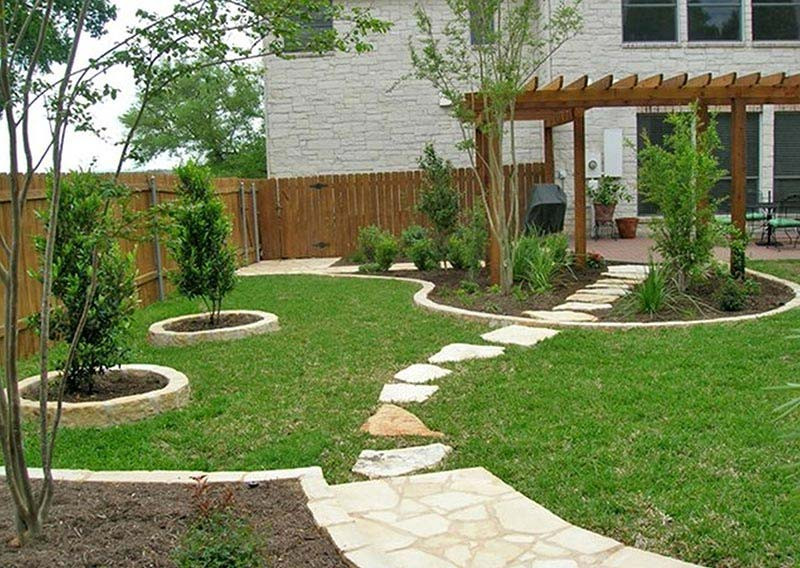 Landscape Designs For Small Yards  Small Yard Landscaping Design Quiet Corner