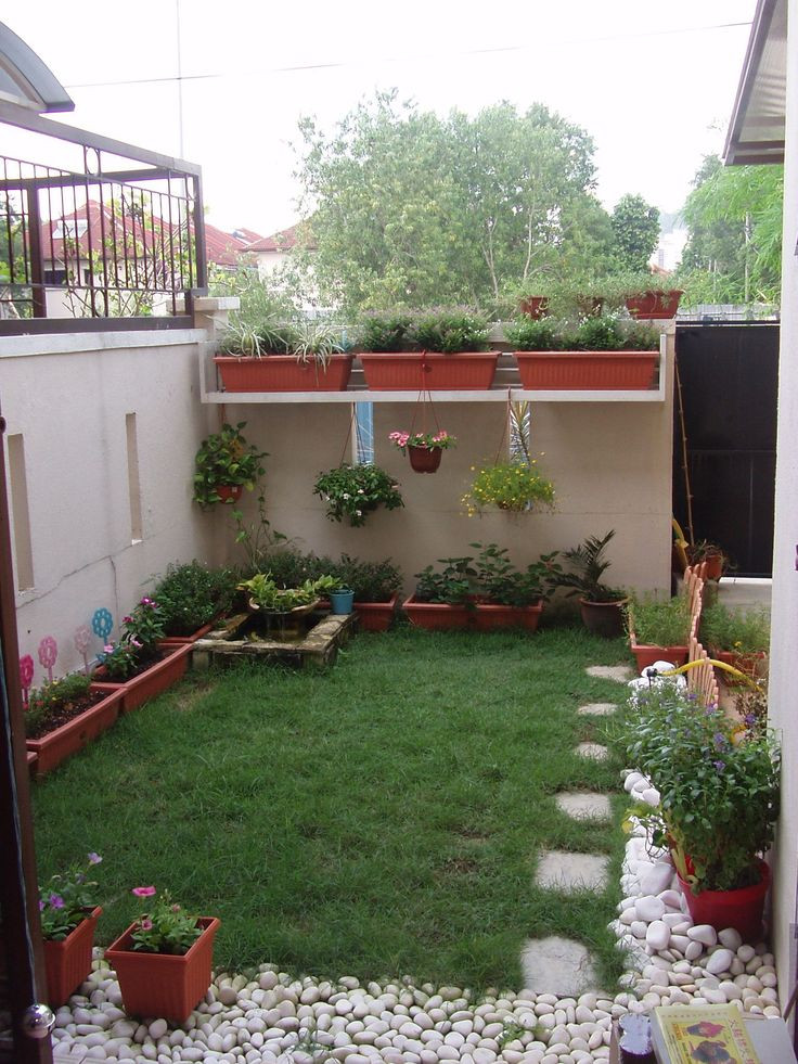Landscape Designs For Small Yards  1076 best Small yard landscaping images on Pinterest