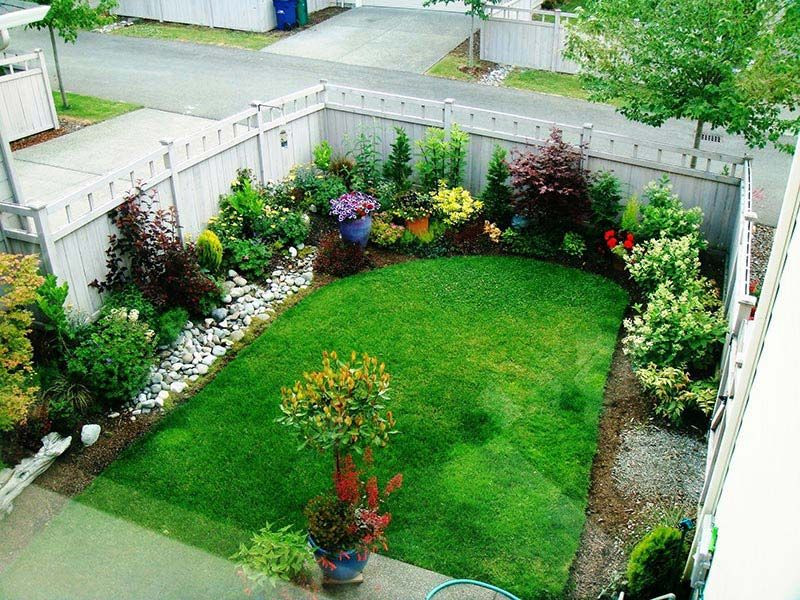 Landscape Designs For Small Yards  Small Yard Landscaping Design …