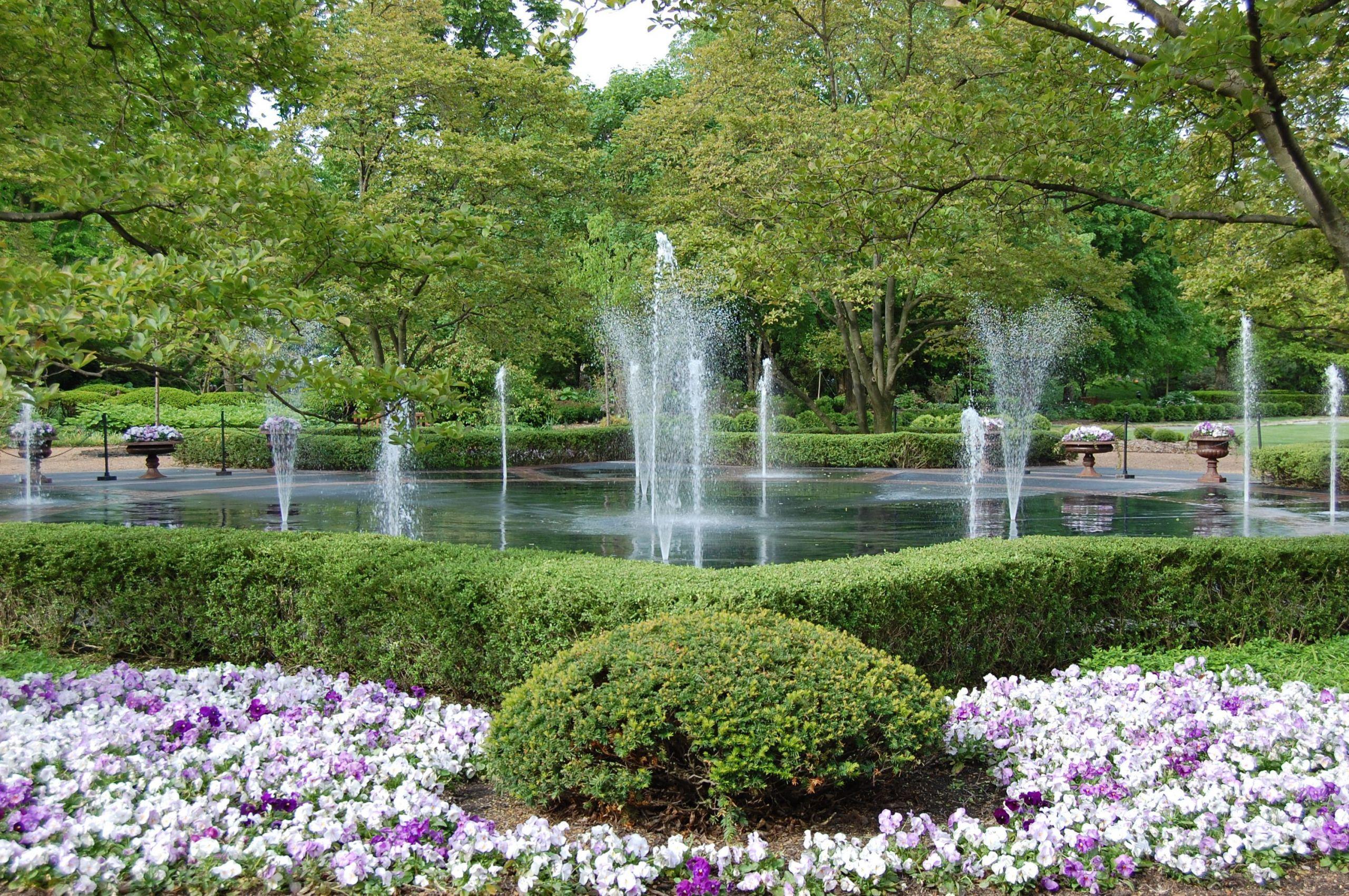 Landscape Fountain Public  Fountain Garden