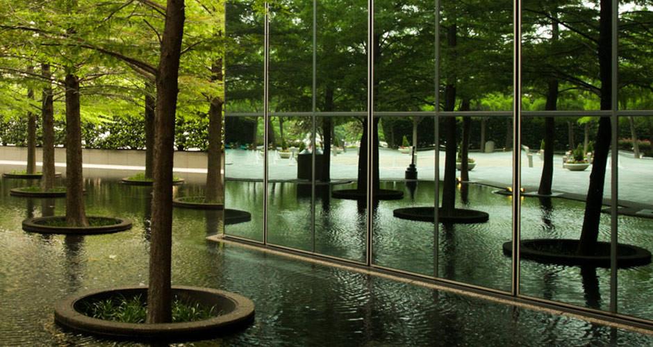 Landscape Fountain Public  The Landscape Architecture Legacy of Dan Kiley