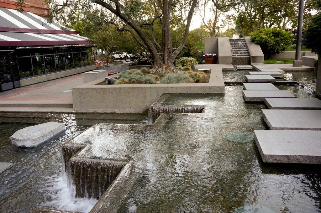 Landscape Fountain Public  Levis Plaza Park Landscape Voice Urbanism Urban Fountain