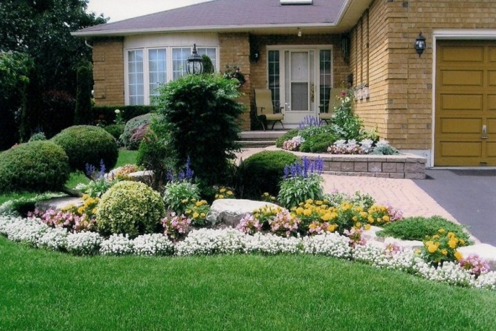Landscape Ideas For Front Yard  Beautiful Front Yard Landscaping Ideas