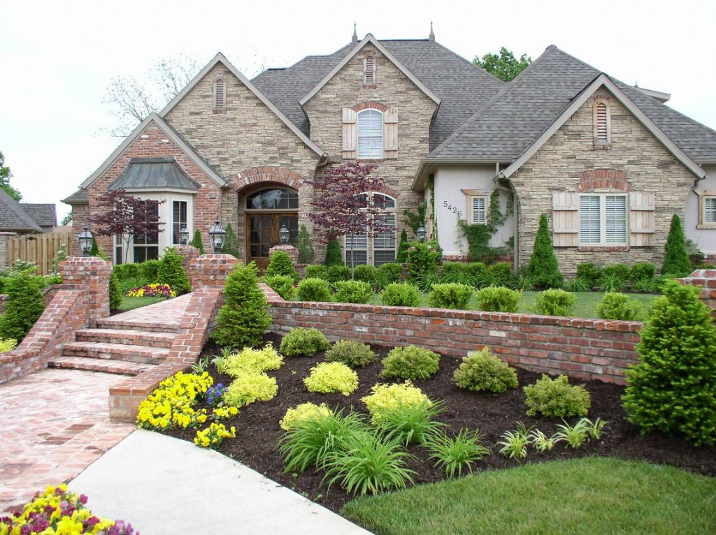Landscape Ideas For Front Yard  Front Yard Landscaping Ideas