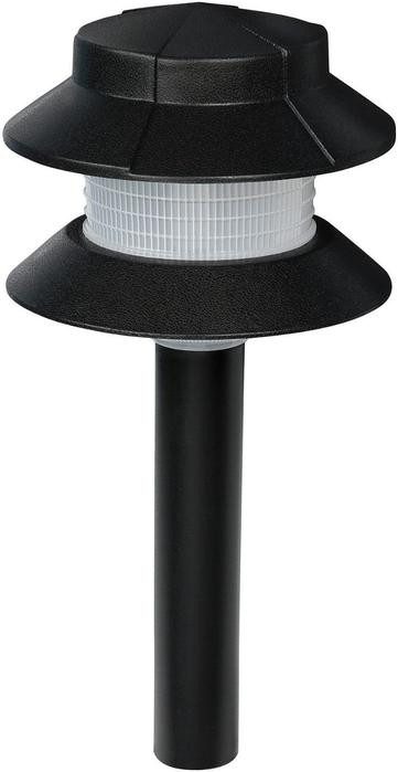 Landscape Lighting Parts  Low Voltage Plastic Two Tier Path Light low price