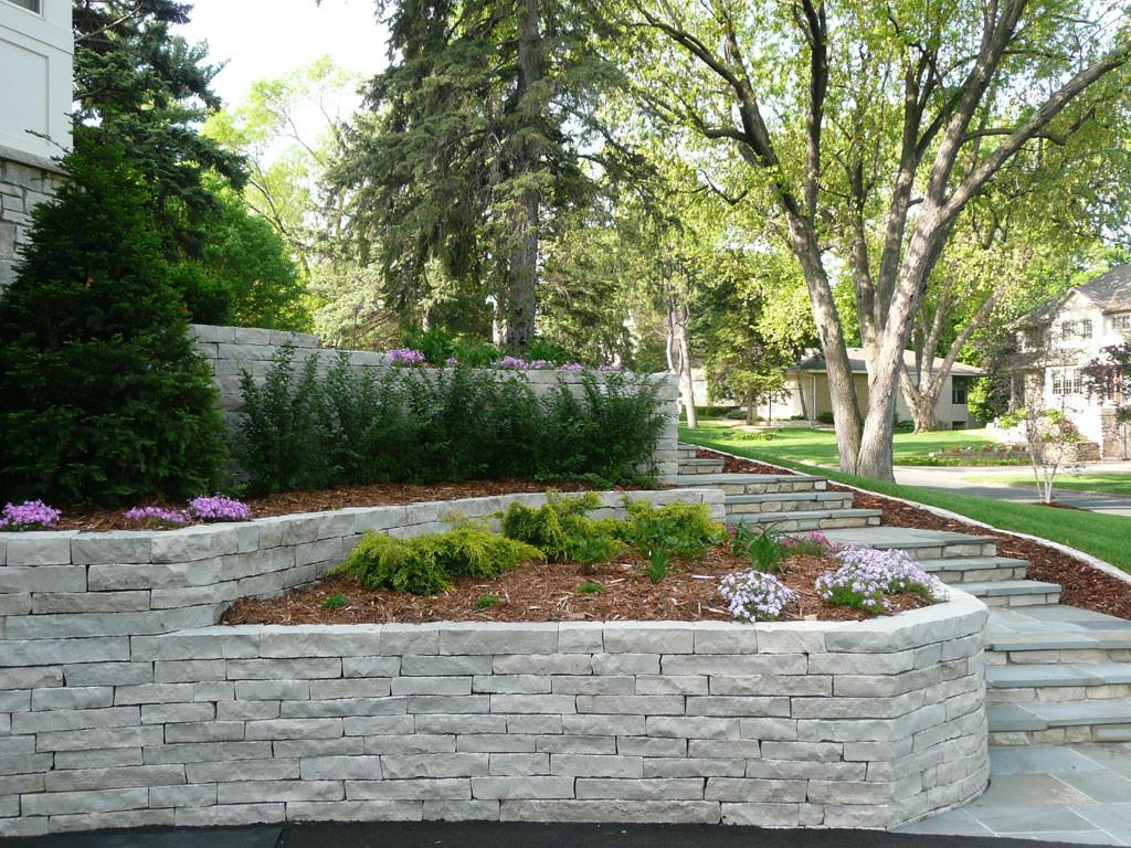 Landscape Retaining Wall Design  Retaining Walls Block Retaining Walls Chaska Victoria