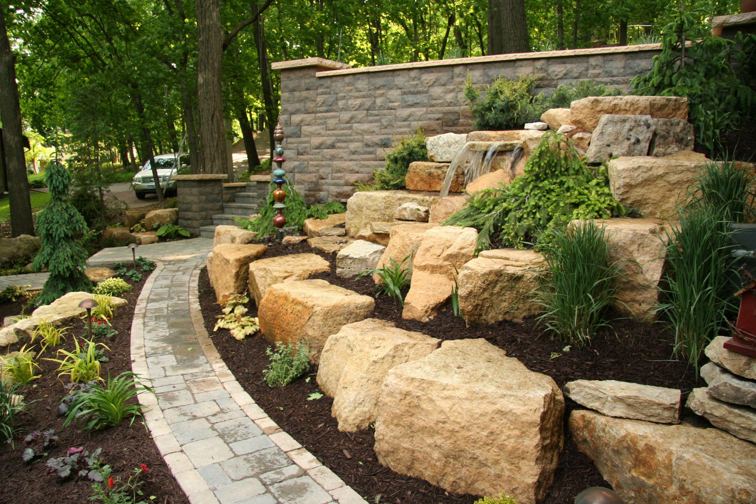 Landscape Retaining Wall Design  Retaining Walls MN