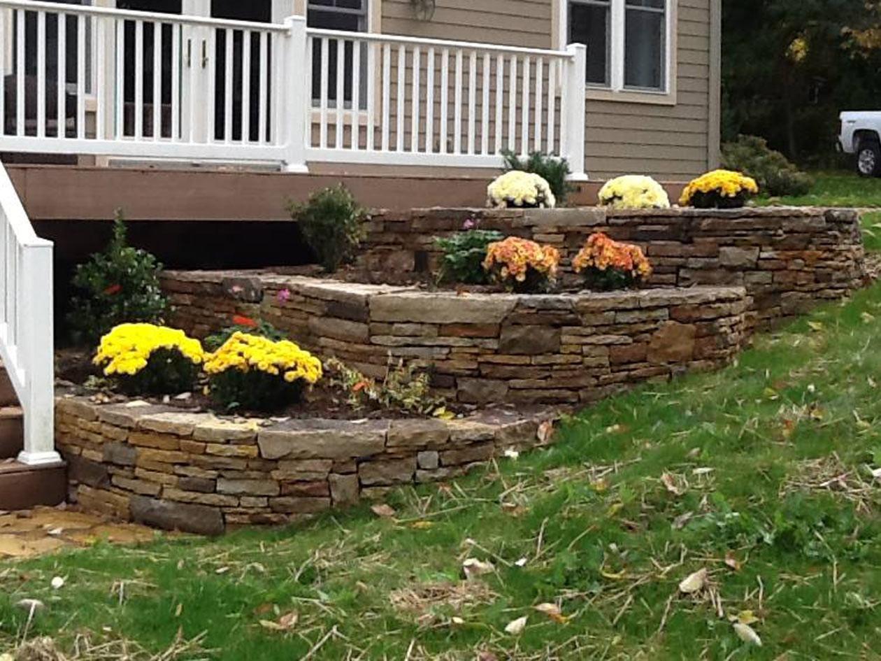 Landscape Retaining Wall Design  Retaining Walls Turpin Landscape Design Build