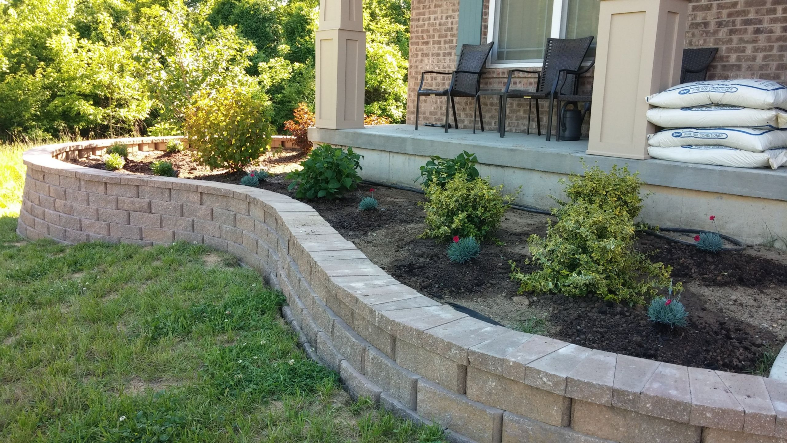 Landscape Retaining Wall Design  Ideas For Retaining Wall Landscaping