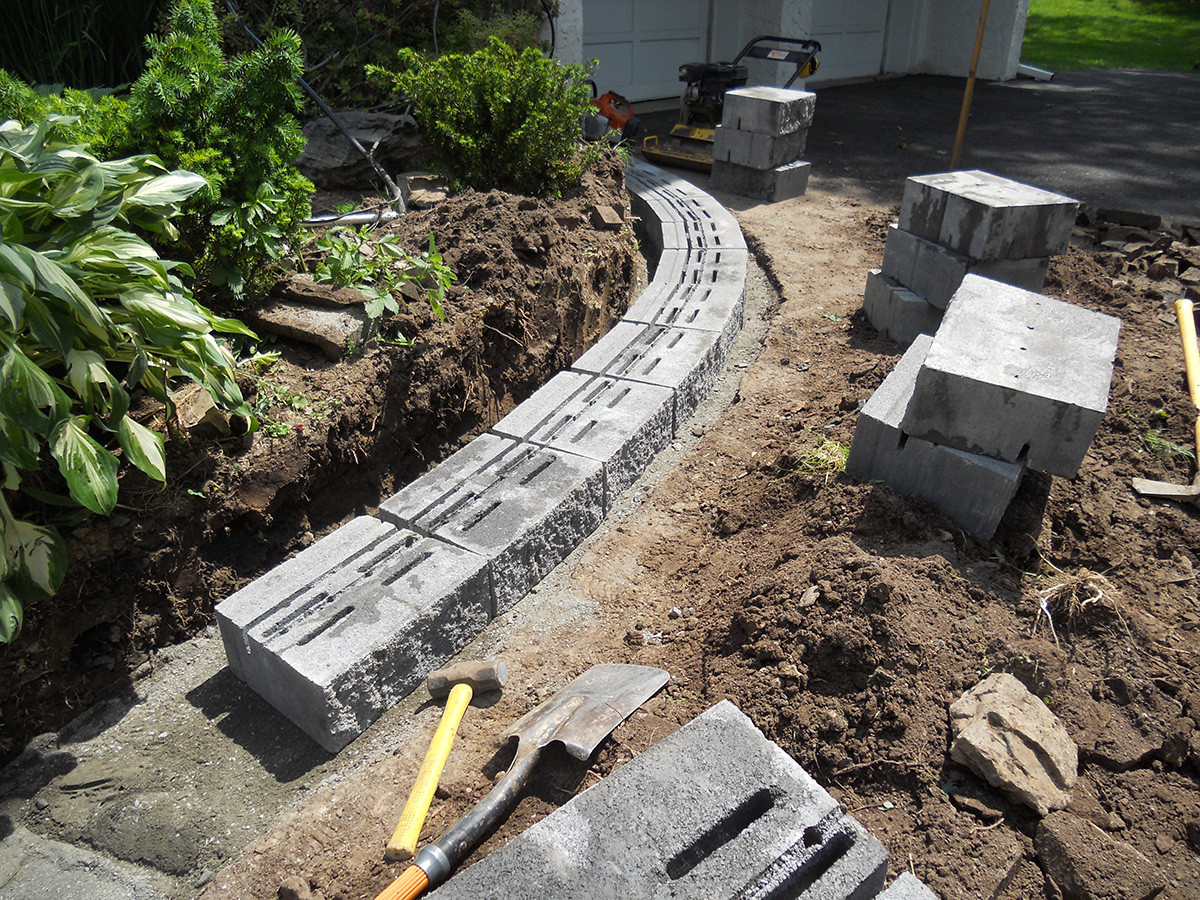 Landscape Retaining Wall Design  Retaining Walls almost PERFECT Landscaping