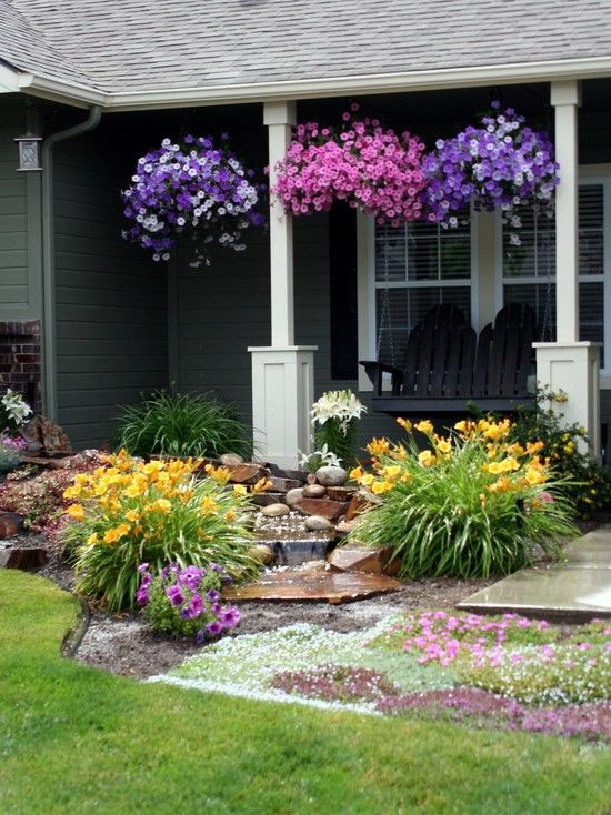 Landscape Small Front Yards  28 Beautiful Small Front Yard Garden Design Ideas Style