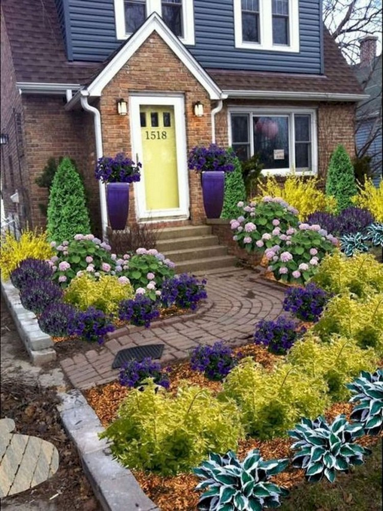Landscape Small Front Yards  73 Beautiful Small Front Yard Landscaping Ideas