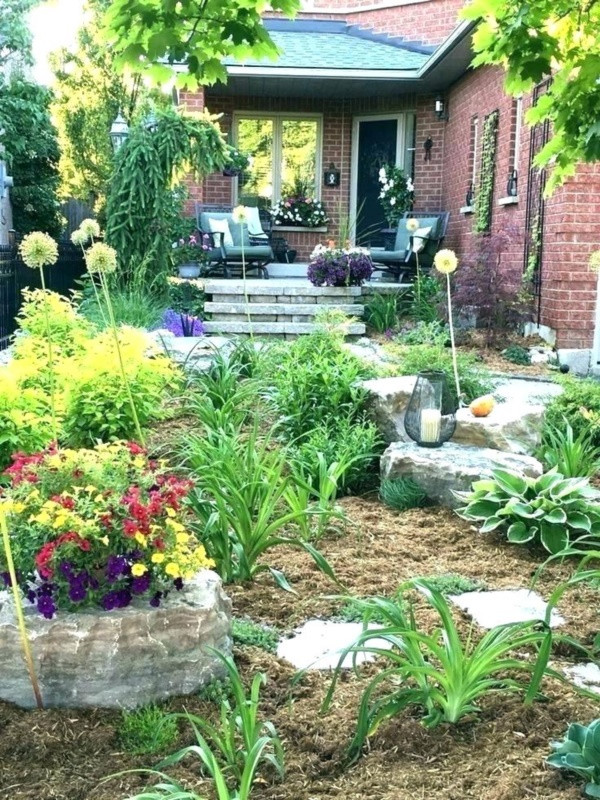 Landscape Small Front Yards  40 Beautiful Small Front Yard Landscaping Ideas Bored Art
