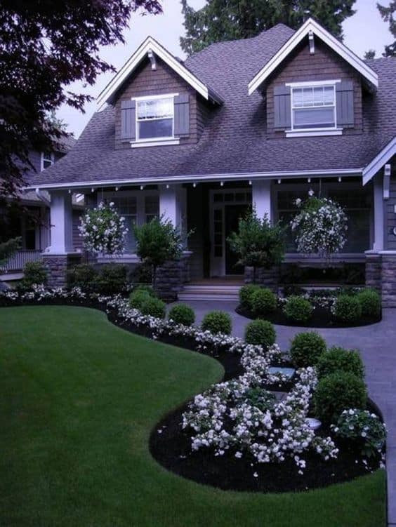 Landscape Small Front Yards  17 Small Front Yard Landscaping Ideas To Define Your Curb