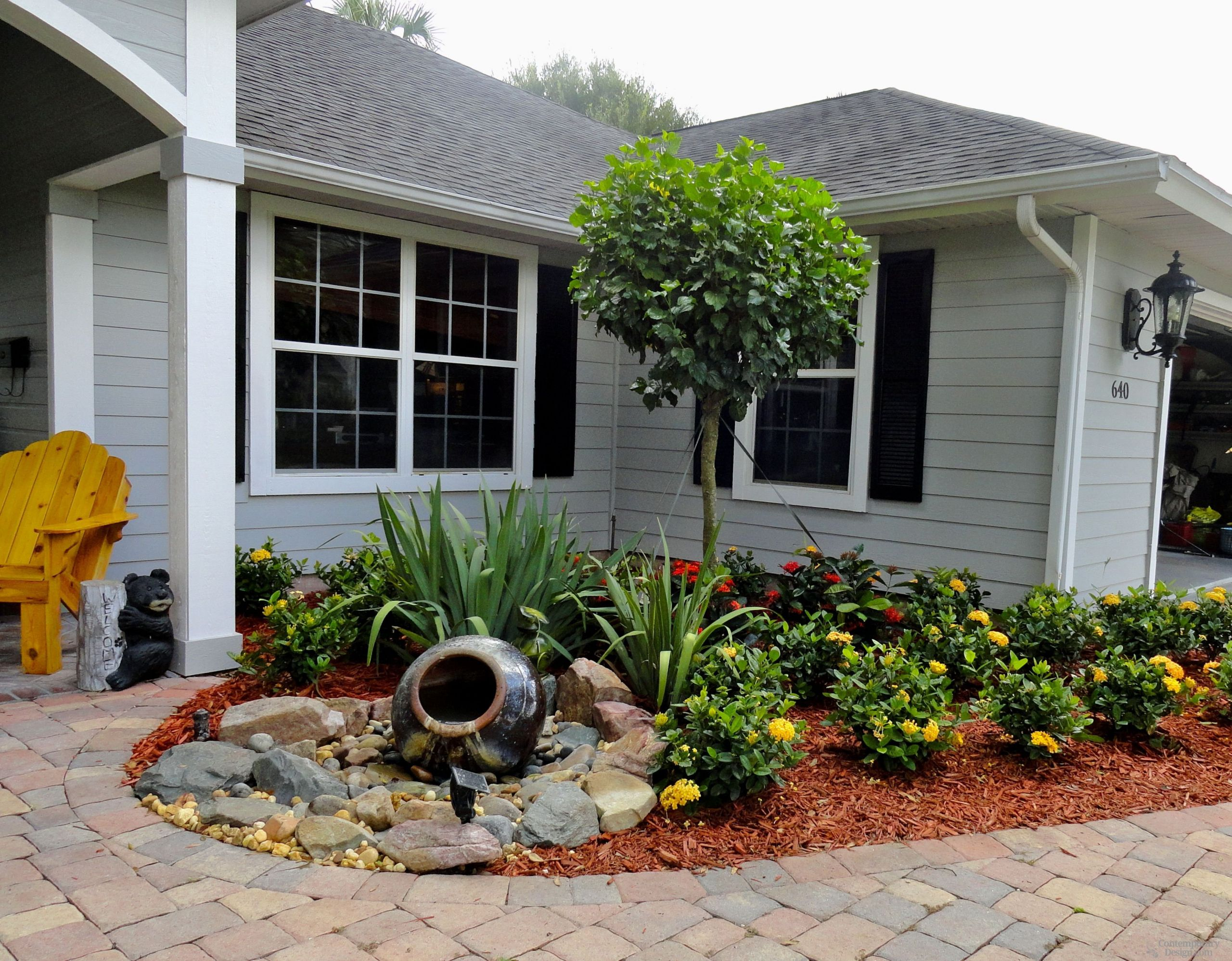 Landscape Small Front Yards  Landscaping ideas for small front yards – Contemporary design