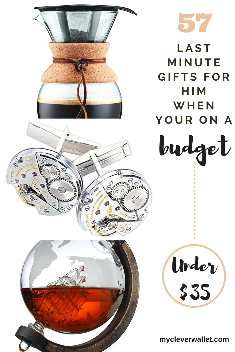Last Minute Birthday Gift Ideas For Him  57 Last Minute ts for Him when you are on a BUDGET