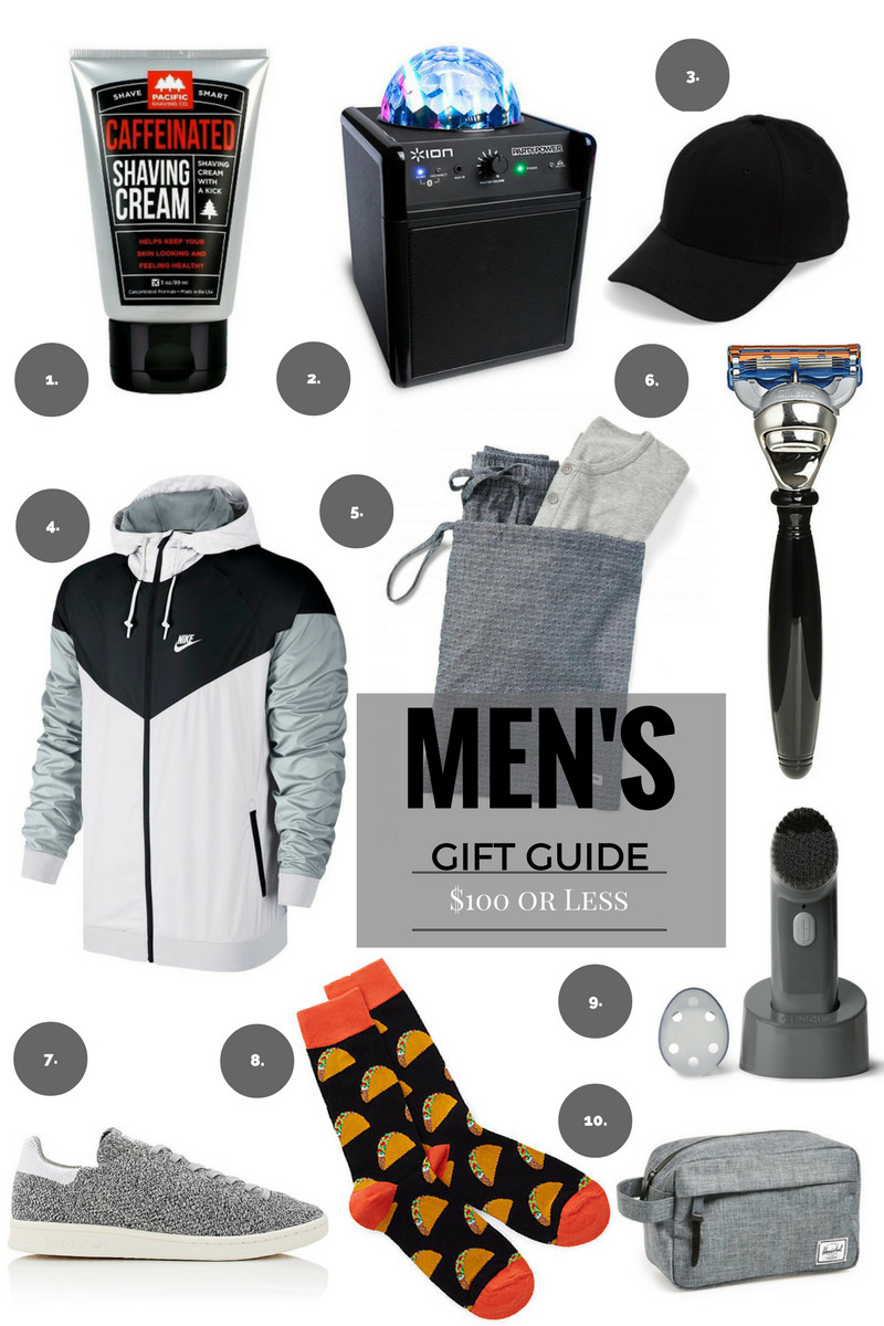 Last Minute Birthday Gift Ideas For Him  GIFT GUIDE Last Minute Gifts For Him $100 or Less