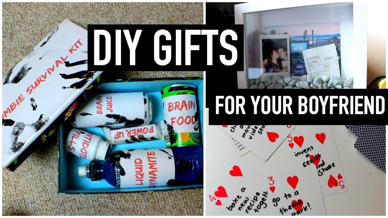 Last Minute Birthday Gift Ideas For Him  DIY Gifts for your boyfriend partner husband etc Last