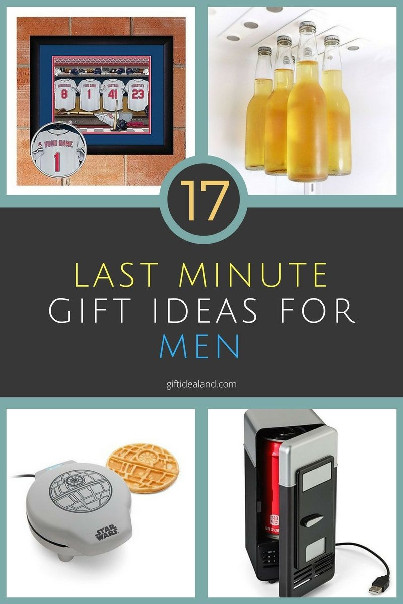 Last Minute Birthday Gift Ideas For Him  17 Great Last Minute Gift Ideas For Him